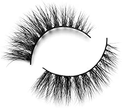 Lilly Lashes 3D Mink Doha | False Eyelashes | Dramatic Look and Feel | Reusable | Non-Magnetic | 100% Handmade & Cruelty-Free