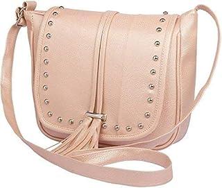 S.S Naaz Women's Hand Bag (Cream)