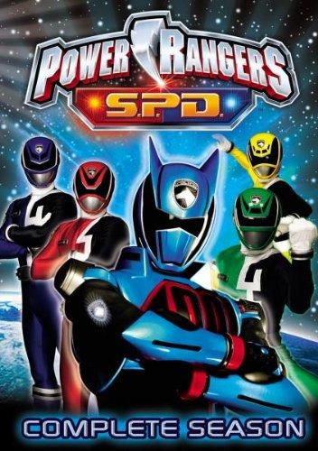 Power Rangers S.P.D. - Die komplette Staffel [9 DVDs]