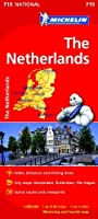 The Netherlands - Michelin National Map 715 (Michelin National Maps) by NA(2012-01-09)