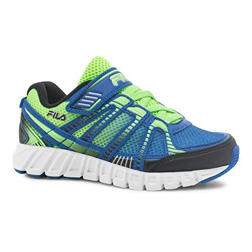 Fila Kid's Volcanic Runner 5 Running Sneakers, Blue Mesh, 5 Toddler M