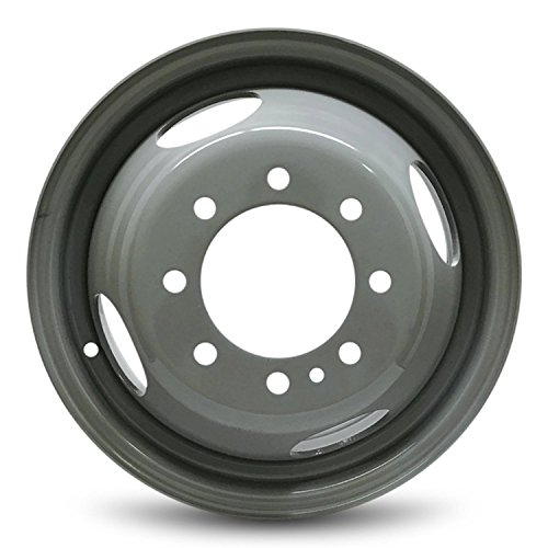 Road Ready Car Wheel for 1999-2004 Ford F350SD 16 inch 8 Lug Gray Steel Rim Fits R16 Tire - Exact OEM Replacement - Full-Size Spare