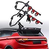 Honhill Portabicicletas Trasero Plegable para 3 Bicis bicicletas Universal Porta Bicicletas para Coches Carga 60kg
