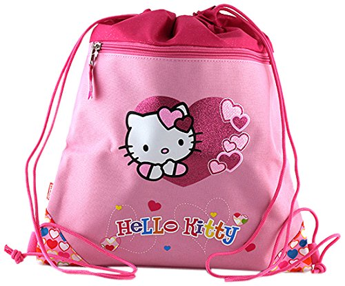 HELLO KITTY Cabas de Fitness 43 cm (Rose)