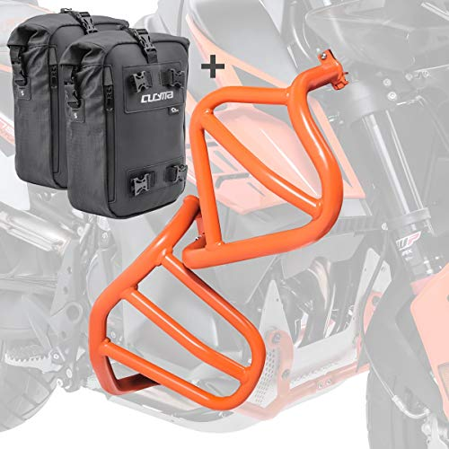 Engine Guard + bags for KTM 790 Adventure/R 19-20 crash bar lower upper og CB4