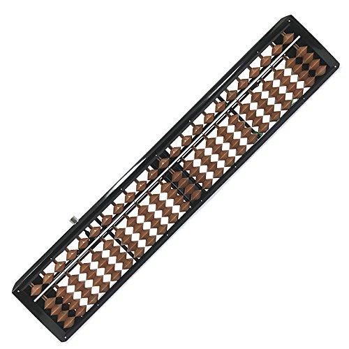 雲州ワンタッチそろばん ソロマット 23桁 カバ玉 ボンタン保護用リング付き 棒入りクリ板付き K-180 玉算堂工業/算盤 ソロバン 一進社