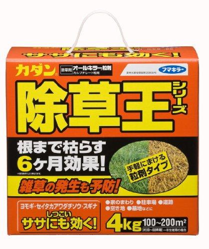 カダン 除草王シリーズ オールキラー粒剤 4kg