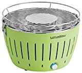 LotusGrill G-GR-34 - Barbacoa de carbón sin humo, color verde lima