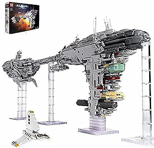 Nebulon-B Frigate Large MOC Building Set, 6388 PCS, 1.18 M Long Space Wars Model Kit para Vehículos Espaciales Grandes, Dispositivo Construcción Bloques Sujeción, Compatible con Lego
