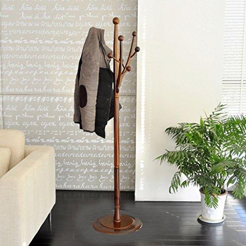Dongyd - Perchero de madera maciza para colgar en interiores o dormitorio, para ropa de cama grande