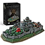 CubicFun Game of Thrones (Got) Puzzle 3D Winterfell Model Kit Regalo para Adultos y niños 8, Song...