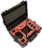 Mallette étanche Premium pour DJI Phantom 4 Pro/Pro+ / V1.0/2.0 / ADV/ADV+ / Obsidian, Espace pour 6 Batteries + Beaucoup d'accessoires, Protection spéciale pour Gimbal (Noir)