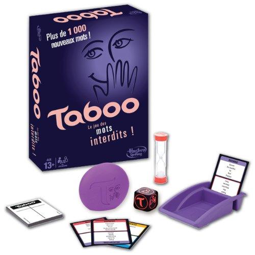Hasbro Taboo Classique - Jeu de Societe de réflexion - Versi