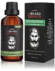 Innoo Tech Premium Beard Oil 50ml, Argan & Almond Oils, All Natural Organic, Vegan, Cruelty Free, Softening Beard Grooming Beard and Mustache Maintenance