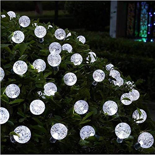 Guirnalda de Luces Solar para LED Decoración de hadas de la secuencia solar de luz LED luces de cadena de bolas de energía solar Patio de la luz de Navidad del césped partido casero 20/50/100 Solar St