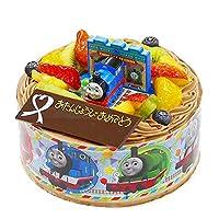キャラデコお祝いケーキ きかんしゃトーマス 生チョコクリーム 5号