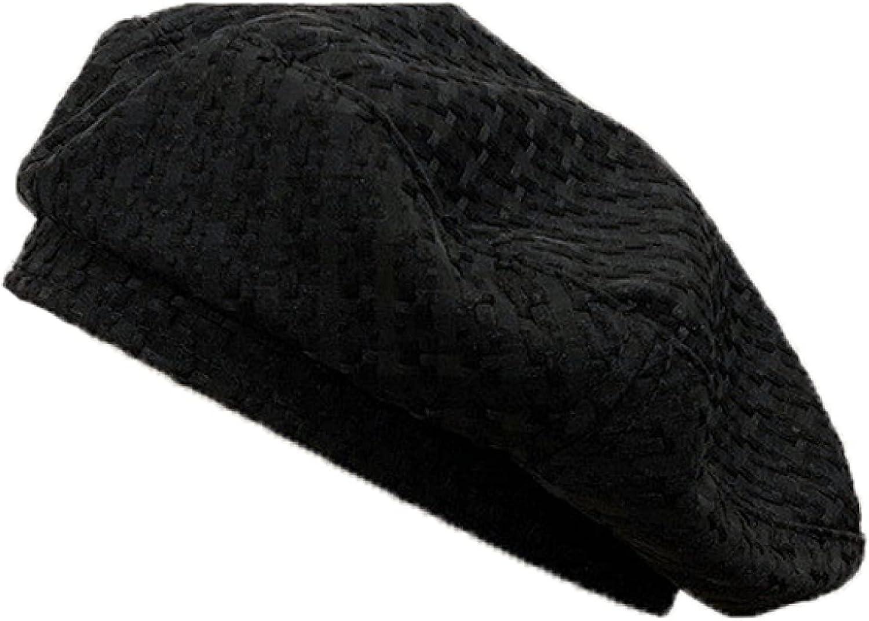 Traveling Berets for Women Plaid Japan Style Cute Lady Beret Hat Women's Leisure Painter Hats