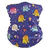 Funnyy - Máscara de elefante para niños, diseño de elefante