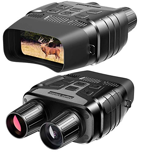 Purchase Rexing B1 Night Vision Goggles Binoculars with LCD Screen, Infrared (IR) Camera, Dual Photo...
