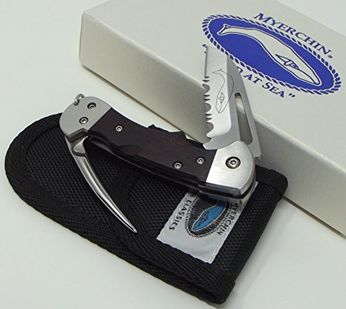Myerchin Knives Tested at Sea WF377P Crew Rigging Knife 3/4