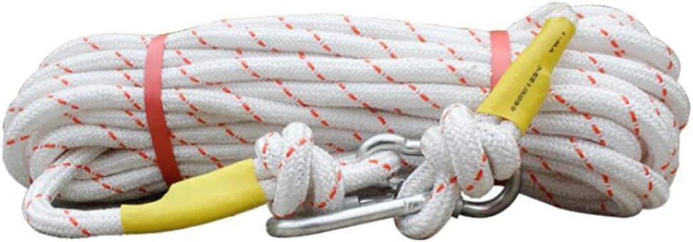 HUYYA Cuerda de Escalada estática 16 mm, con Bloqueo de ...
