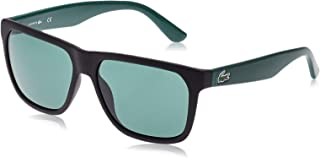 Lacoste Rectangle Unisex Sunglasses - Green Lens, L732S-004