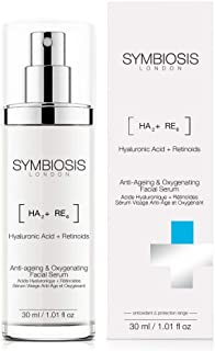 SYMBIOSIS LONDON (Hyaluronic Acid + Retinoids) Anti-ageing & Oxygenating Facial Serum, 30 ml