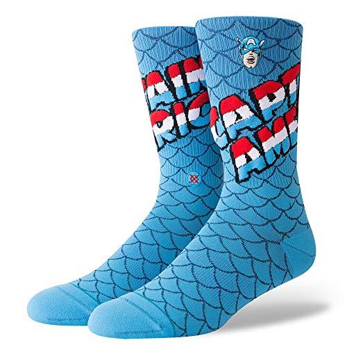 Stance Calcetines Marvel Captain America Everyday Light Cushion Azul 38-42 EU
