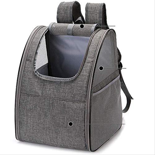 Nobranded Cane Backpack Vettore Vettore Vettore Zaino per Cani di Piccolo Cani Gattiventilato Design Estraibile Pet Carrier Backpack Cat Borsa