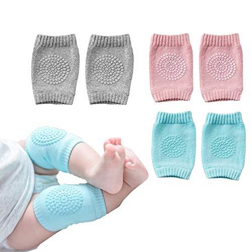 Baby Crawling Pads Anti Slip Knee Pads Unisex Baby Knee Protectors Toddler Leg Warmer Safety Walking Kneepads