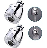 Sinrier 2 pack 360-Degree Swivel Water Swivel Faucet Aerator Nozzle Filter Water Saving Tap Diffuser Kitchen Accessories