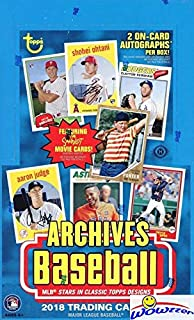 topps archives 2018