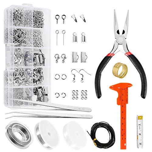 Kit de fabricación de joyas para adultos y principiantes.