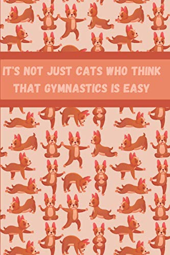 It's not just cats who think that Gymnastics is easy