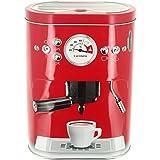 Promobo - Boite à Capsules Café Double Dosette Senseo Machine A Café 3D Rouge