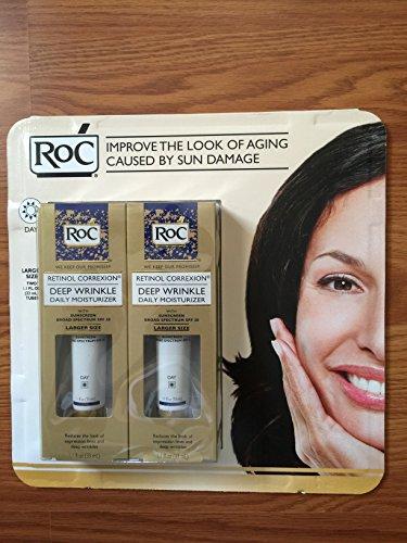 ROC Retinol Correxion Deep Wrinkle Daily Moisturizer SPF 30 (1.0oz X 2)