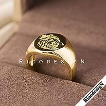 Coslive Kingsman Harry Hart Signet Ring Jewelry Accessories for Men