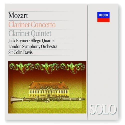 Jack Brymer, The Allegri String Quartet, London Symphony Orchestra, Sir Colin Davis & Wolfgang Amadeus Mozart