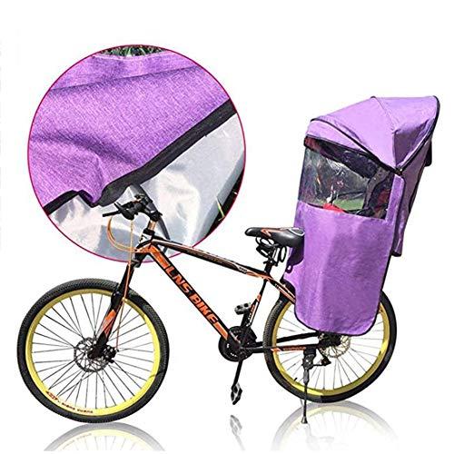 Regenhoes Voor Kinderzitje Fietsdak Achter Elektrische Auto Kinderdakdak Met Volledig Gesloten Bescherming En Stralingsafscherming Verkrijgbaar In Alle Seizoenen
