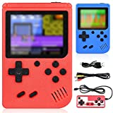 GOLDGE Consoles De Jeux Portable,Console de Jeu Retro FC pour Deux Joueurs,Chargement USB Consoles avec 400 Classique Jeux, Grand Cadeau pour Les Enfants