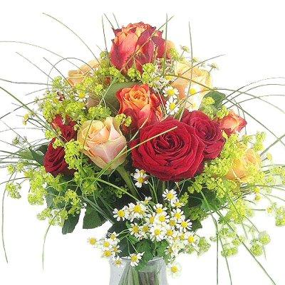 Premiumstrauß - Blumenstrauß mit Edelrosen