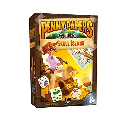 2 Tomatoes Games Penny Papers: La Isla de la Calavera, Multicolor (8437016497180-0)