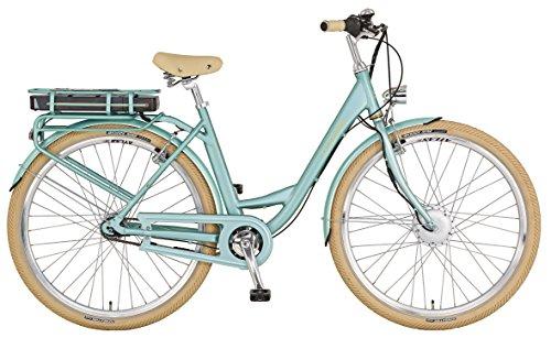 "Prophete E-Bike, 28\"", Vorderradmotor, 36V, 250W, max. 38Nm, 7-Gang Nabenschaltung , SAMSUNG Lithium-Ionen 36V, 10,4Ah (374Wh), Rücktrittbremse, Alu-Urban-Premium-Rahmen, integr. Gepäckträger"