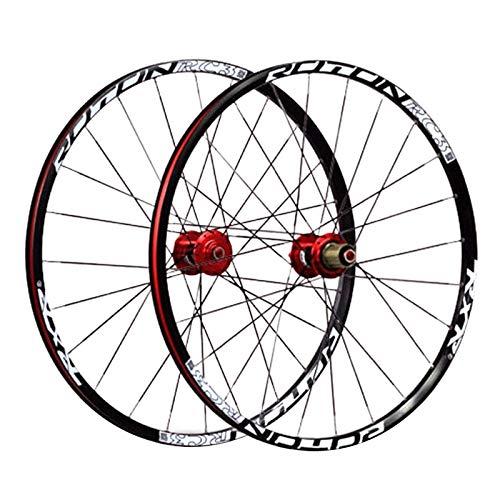 TYXTYX Juego de Ruedas de Bicicleta BMX de 24 Pulgadas, llan