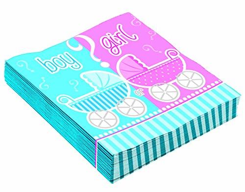 Forum Novelties X78694 sexe révéler 33 cm x 33 cm Serviettes de table, Multicolore