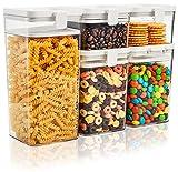 Yesland 5 recipientes herméticos de almacenamiento de alimentos,...