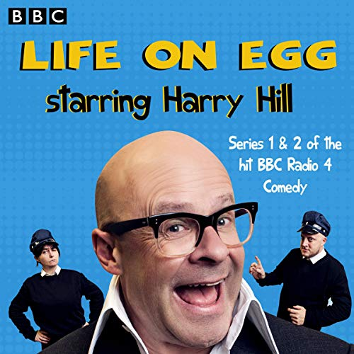 Life on Egg Starring Harry Hill audiobook cover art