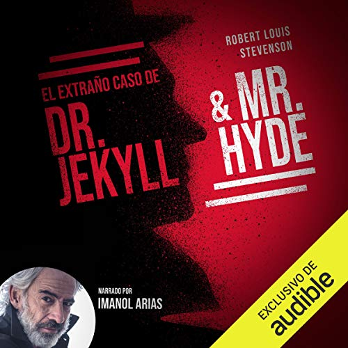 Diseño de la portada del título El extraño caso de Doctor Jekyll y Mr. Hyde