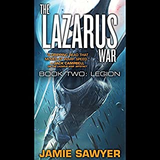 The Lazarus War: Legion audiobook cover art