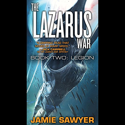 The Lazarus War: Legion audiobook cover art
